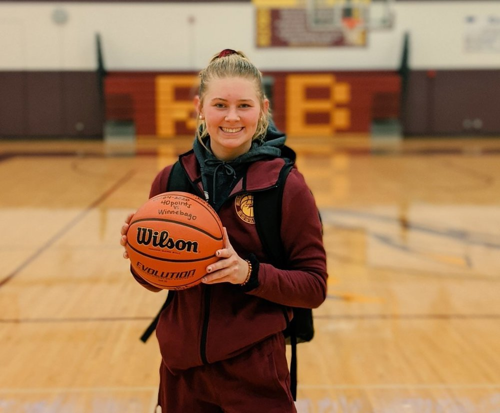 Peyton Bannon:  1,000 Career Points; Breaks 2 School Scoring Records