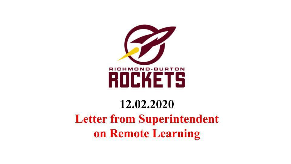S157 to Remain in Remote Learning