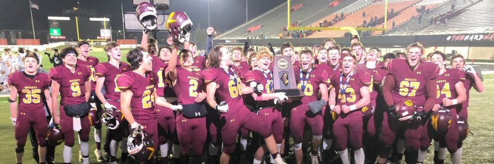 RB Football:  2019 STATE CHAMPS