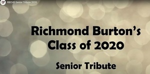 The Class of 2020 Senior Tribute