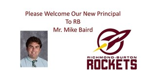RB Welcomes New Principal