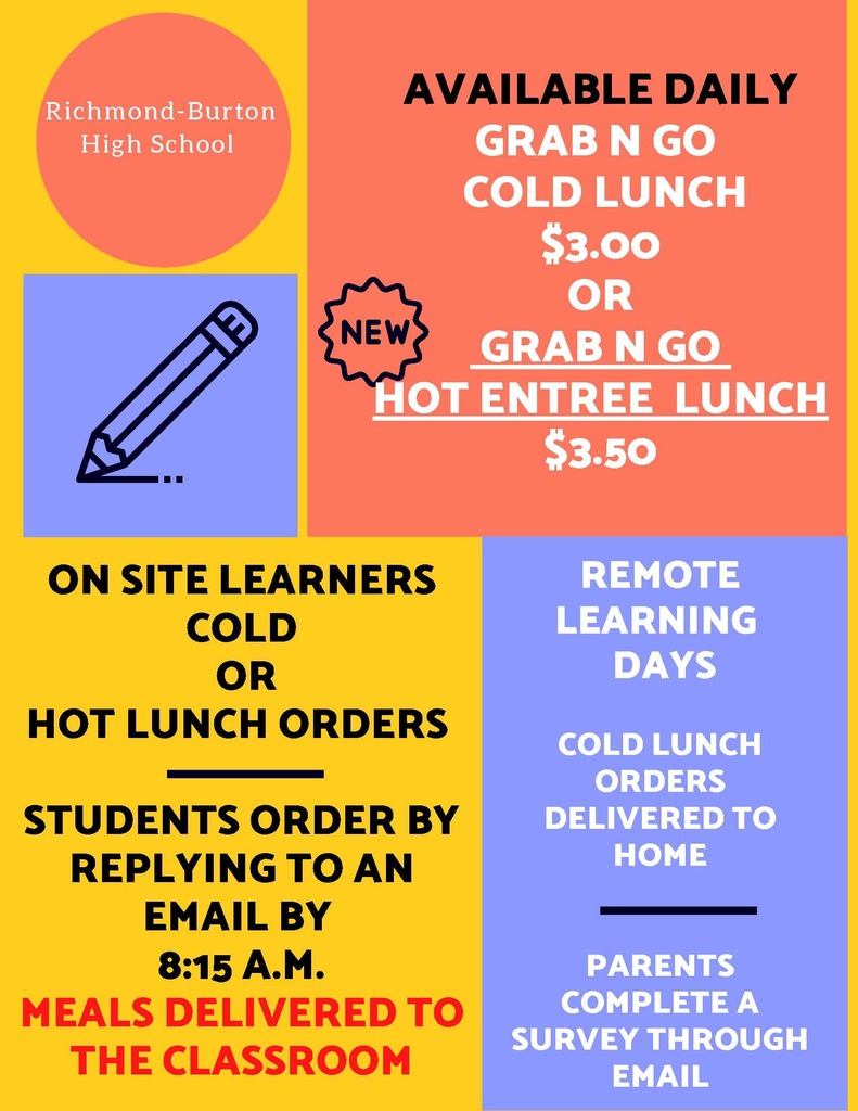 November Hot Lunch Poster