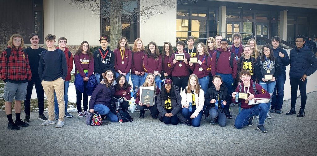 2019 2020 Math Team Regional Champs Photo