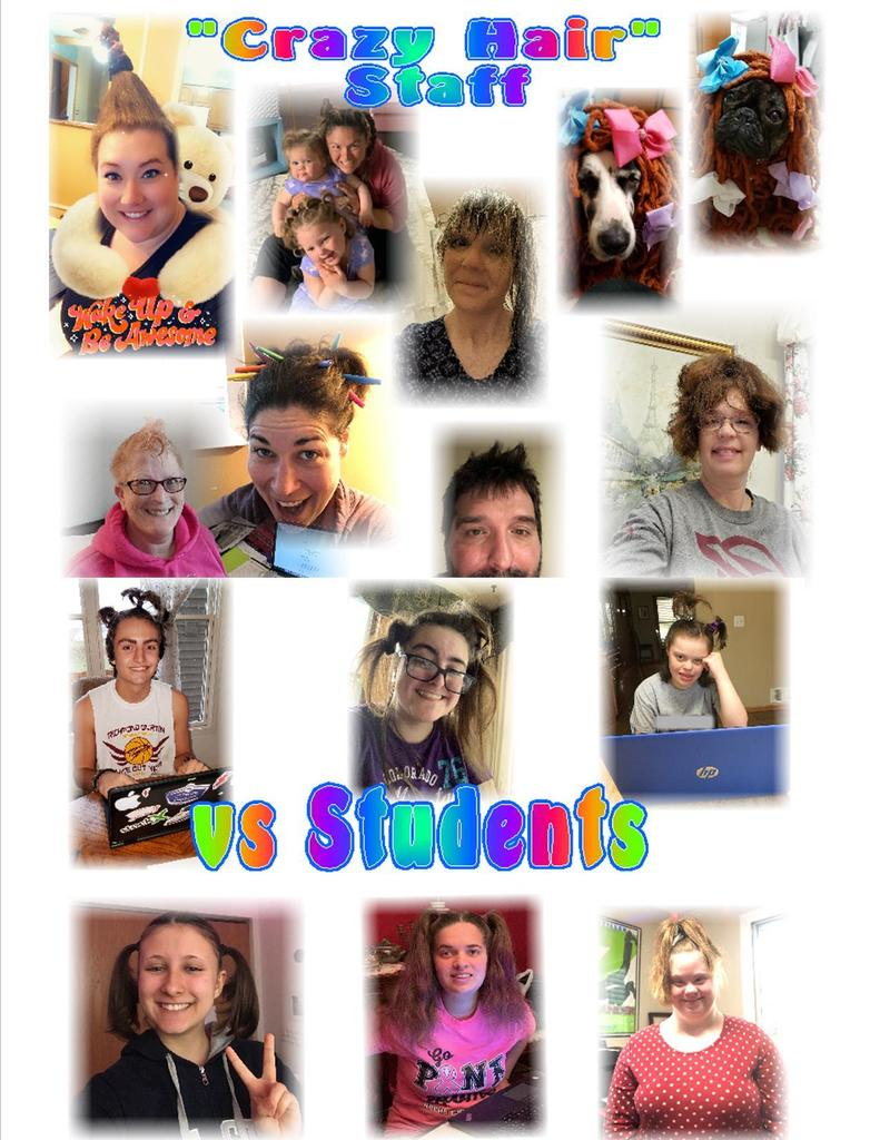 Crazy Hair Day Photos