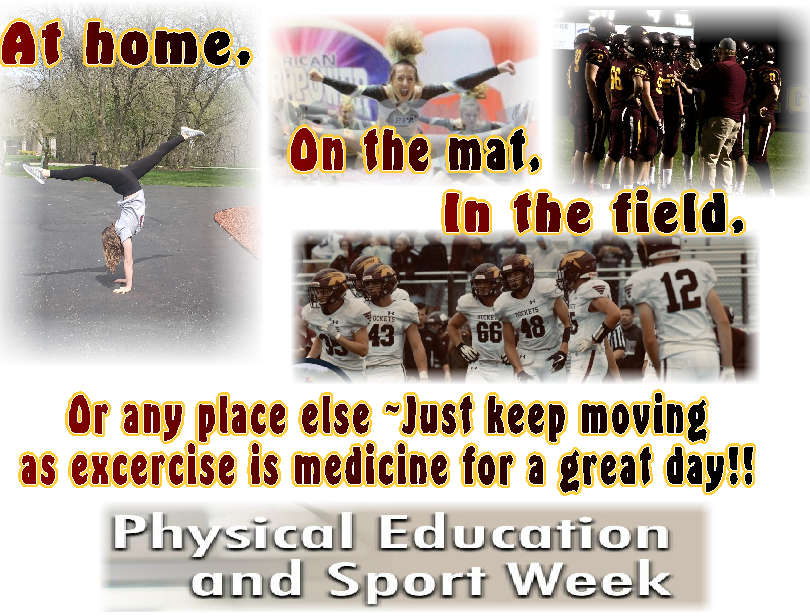 2020 National Physical Ed & Sport Week Graphic