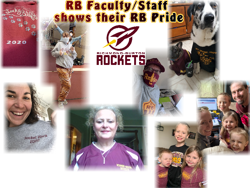 School Color Friday ~Staff