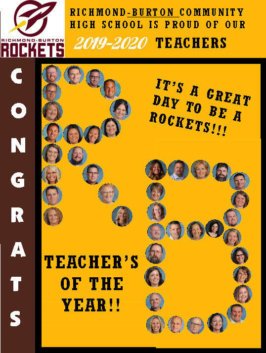 RB Teachers of the Year