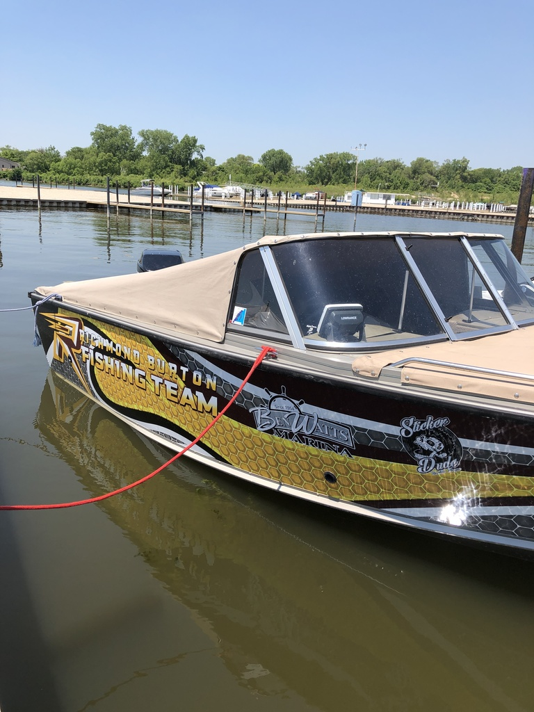 RBCHS Bass Fishing Boat