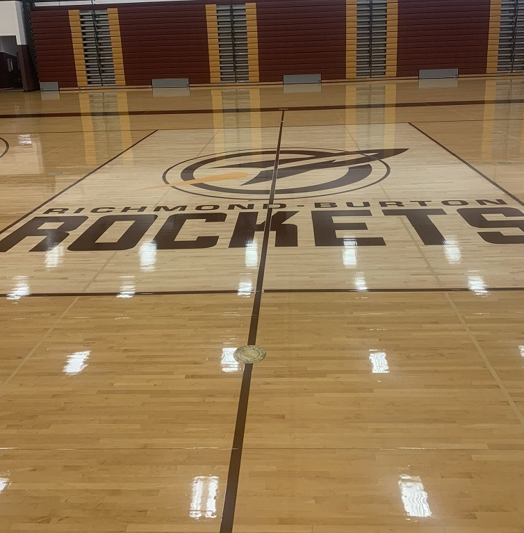 RB New Gym Floor